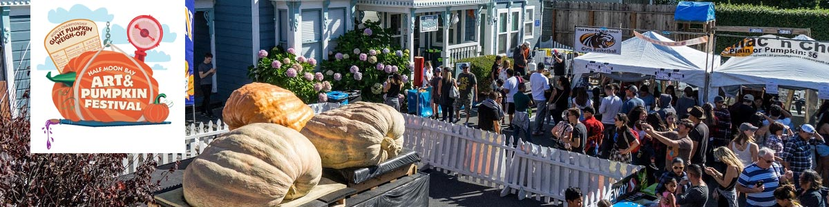 sponsorship and exhibitor opportunities at Half Moon Bay Art & Pumpkin Festival